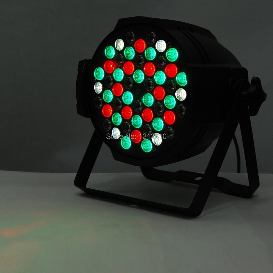Hot Sell DJ PAR 54*3 RGB LED Stage Lights  RGB PAR 64 DMX PARTY SHOW<br><br>Aliexpress