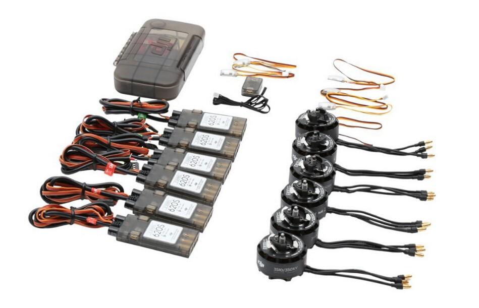 Dji E800 Power kit 6 pcs motor / esc and 5 pairs Propeller dji pack updater accessories free shipping