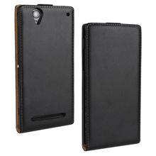 Buy Sony Xperia E4 E4G Genuine Leather Case Vertical Flip Leather Case Sony Xperia X XA Z5 M2 S50h T2 Ultra for $4.20 in AliExpress store