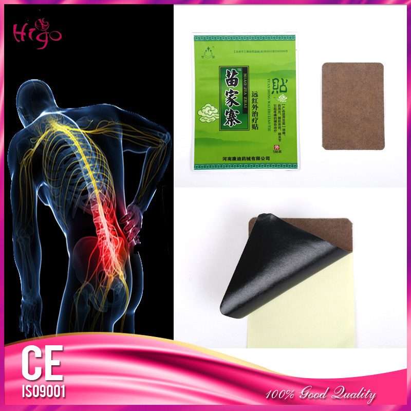 10 Piece/2Bags Chinese Medical Black Plaster For Back Shoulder Pain Relief Body Health Care Size 7*10 cm Free Shipping(China (Mainland))