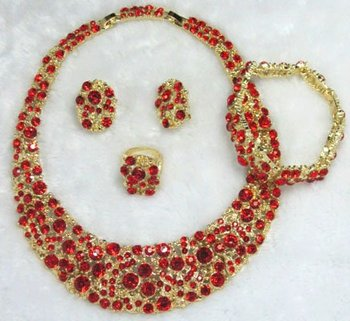 New arrival !!!!!African gold plated costume jewelry sets for wholesale and retail with free shipping