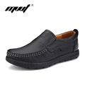 Top quality genuine leather women flats shoes Full grain leather shoes woman Zapatos mujer Slip on