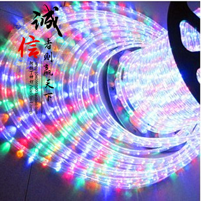 High bright led strip multicolour led colorful lights belt led band high voltage lights with waterproof bineme round(China (Mainland))