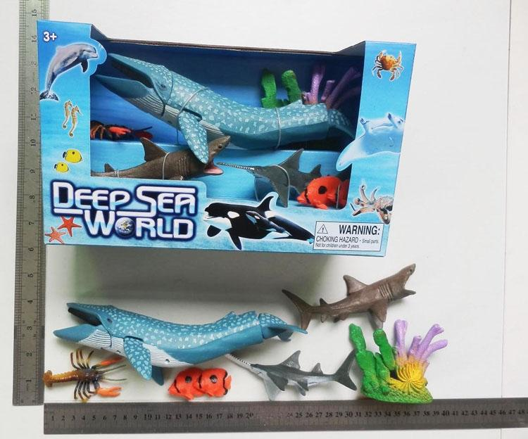 Shark Toy Set : Whale shark toys promotion shop for promotional