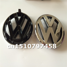 Car styling gross black red white silver orange Volkswagen Golf 6 logo Front Grille Emblem Badge