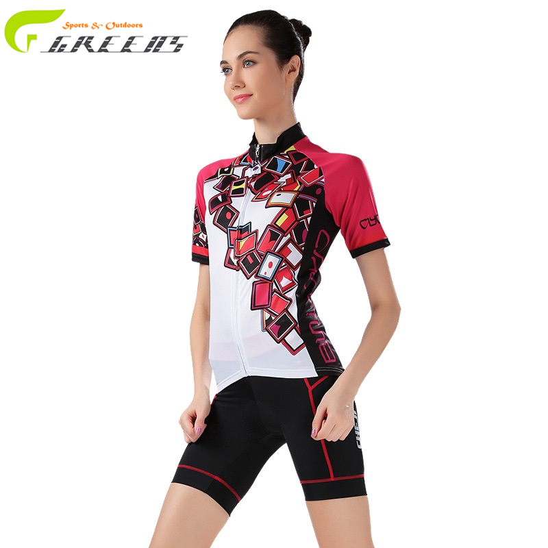 Gurensye cycling jersey women style short sleeves clothing sportswear outdoor mtb ropa ciclismo bike clothing sport jerseys(China (Mainland))