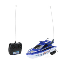 Buy Kids RC Boat Super Mini Speed High Performance Remote Control Electric Boat Toy Children Boys Birthday Gift for $12.03 in AliExpress store