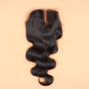 7A Best Virgin Brazilian Closure Body Wave Brazilian Lace Closure Bleached Knots Closures Free/2/3Part Virgin Human Hair Closure