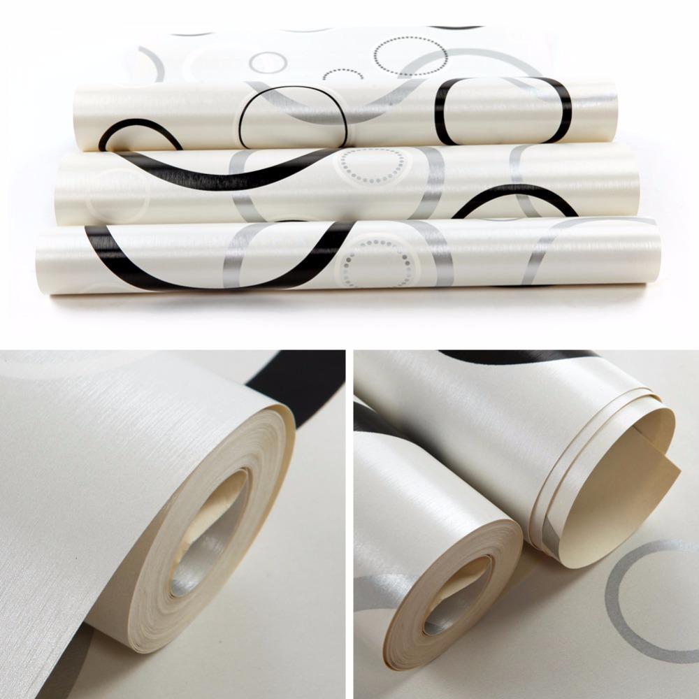 Aliexpress.com : Buy Bubbles Design Embossed Non woven Wallpaper ...