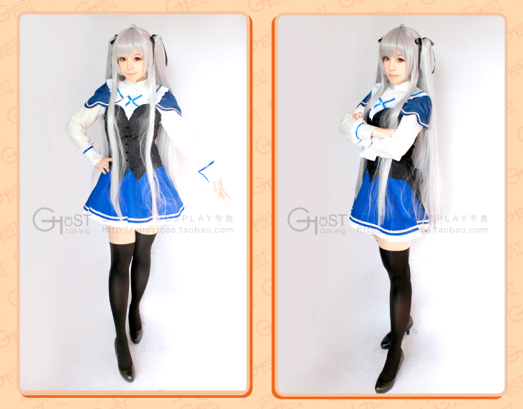 Absolute Duo Julie Sigtuna cosplay wig - blueskycosplay store