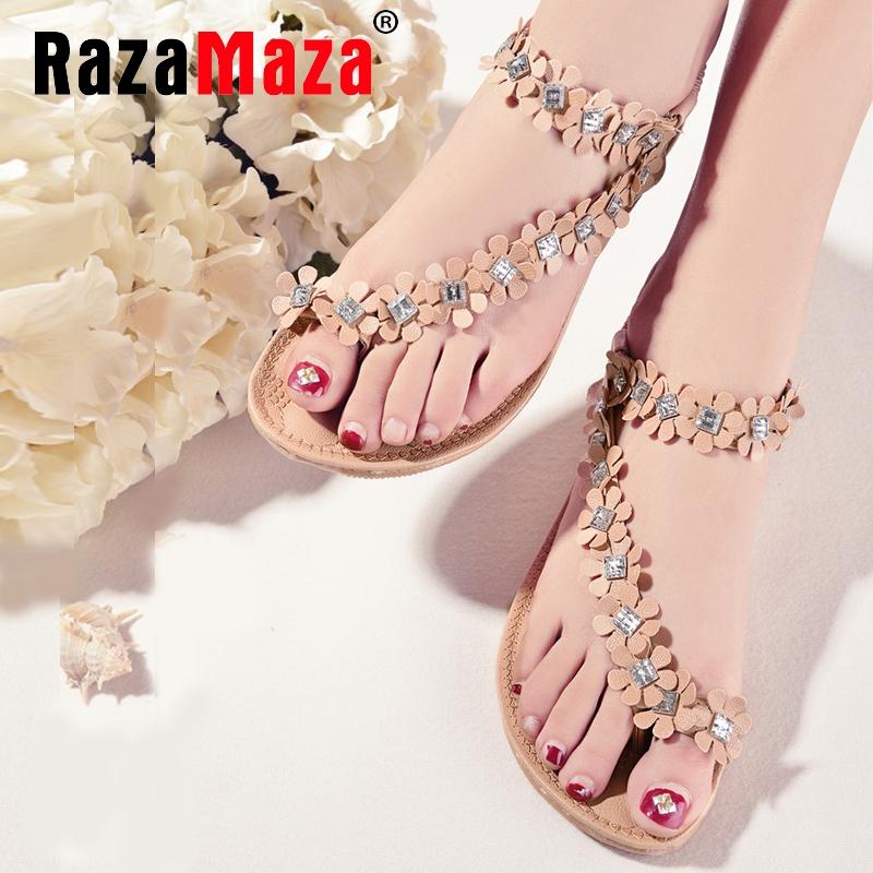 flat sandals pinch toe fashion trend sandals bohemia national flat flower female shoes hot sale shoes size 35-39 P23533<br><br>Aliexpress