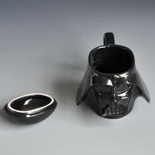 Star Wars Mug with Original packaging- 3D Ceramic Coffee And Drink Cup Removable Lid Stormtrooper Helmet Darth Vader Helmet Mug
