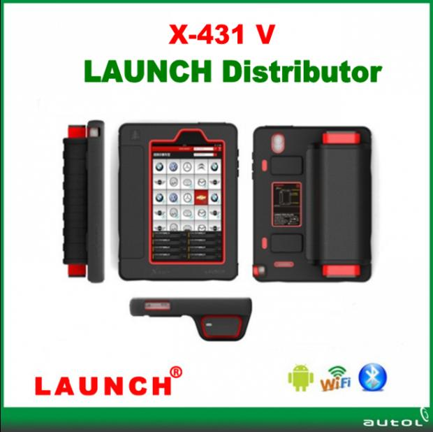 2016 New Arrival Original Launch X431 5 V Russian/Spanish/Germany...Optional With 73 Kinds of Software With Android Tablet PC(China (Mainland))