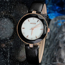 New Fashion Brand Genuine Leather Strap Women Dress Watches Quartz Watch Waterproof Clock Wristwatch k952