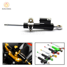 moto CNC Damper Steering Stabilizer Linear Reversed Safety Control yamaha mt09 f800gs protaper mt 07 crf 230 - SOSO MOTOR store