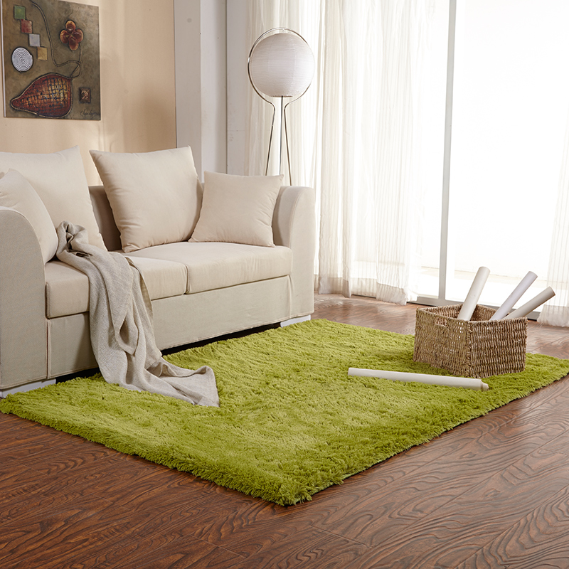 soft rug for living room microfiber silk carpet 100*120cm/39.37*47.24in(China (Mainland))
