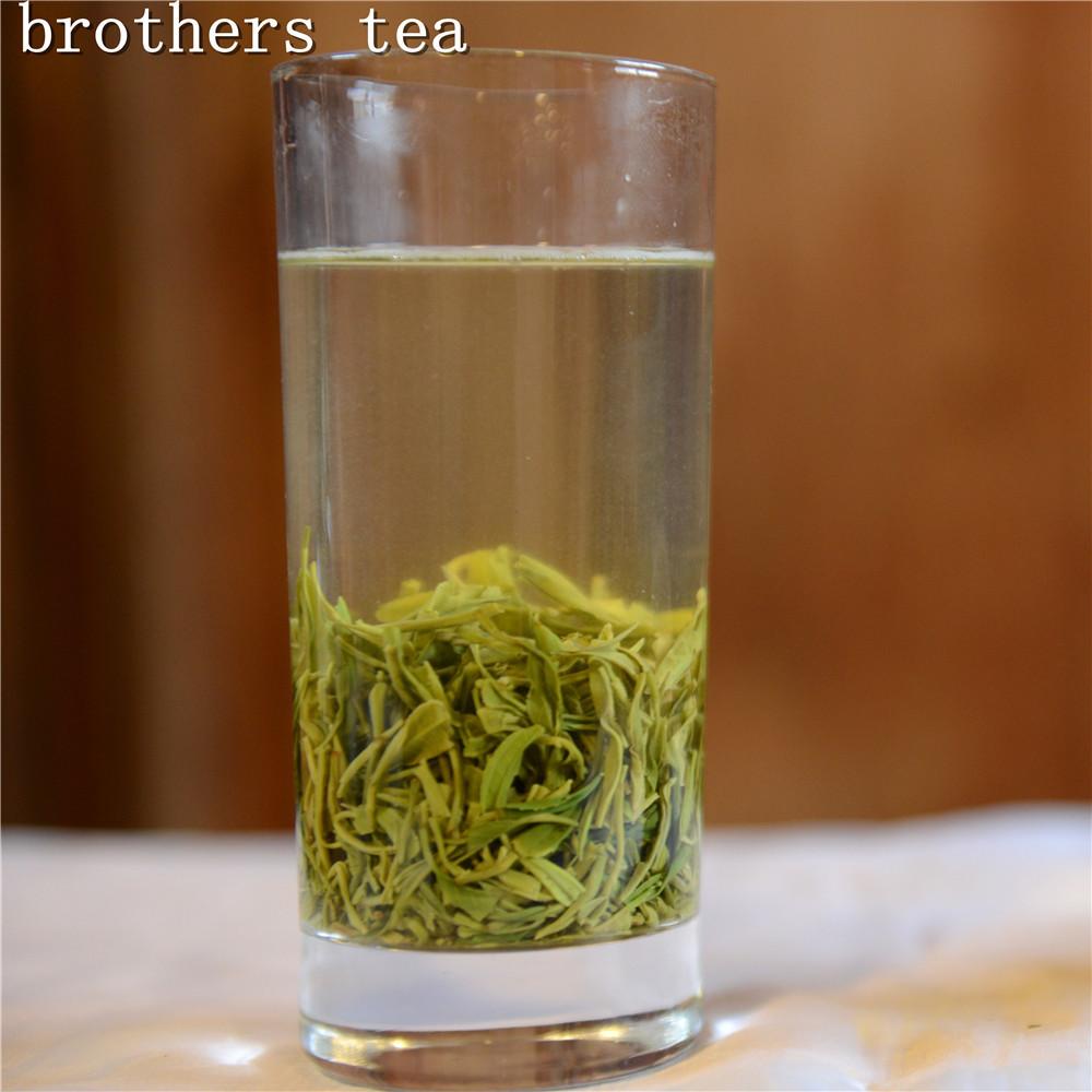 2015 250g Selenium-enriching Special Grade Mao Jian Green Tea,Ziyang County,Ankang City,China Tea bath Cosmetology Reduce weight<br><br>Aliexpress