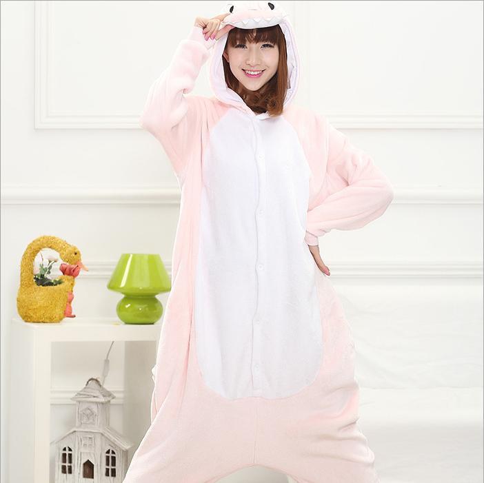 Hot Unisex Adult Flannel Pajamas Cosplay Cartoon Animal Winter Onesies Christmas Halloween Pajama Pyjama Sets Pikachu Panda