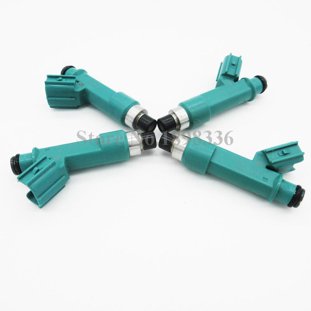 4x Fuel Injector Nozzle 23250-28080 23209-28080 For Toyota Camry Corolla RAV4 Wish Rukus Previa Tarago Aurion Avensis(China (Mainland))