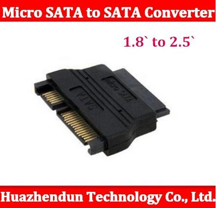 Здесь можно купить  Free shipping SATA-300 / SATA2.0 SATA-600 / SATA 3.0 supported mSATA micro SATA to SATA converter adapter 1.8` to 2.5` inside   Компьютер & сеть