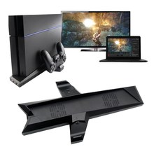 2016 New USB Hub Charging Dock Host Vertical Bracket Stand Holder Dual Controller PS4 Console A#V9 - Another story girl store