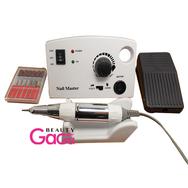 2014 Nail Art Salon & Home Usage Manicure 100-240V pink white grey nail polisher handpieces >30000rpm Electric Drill