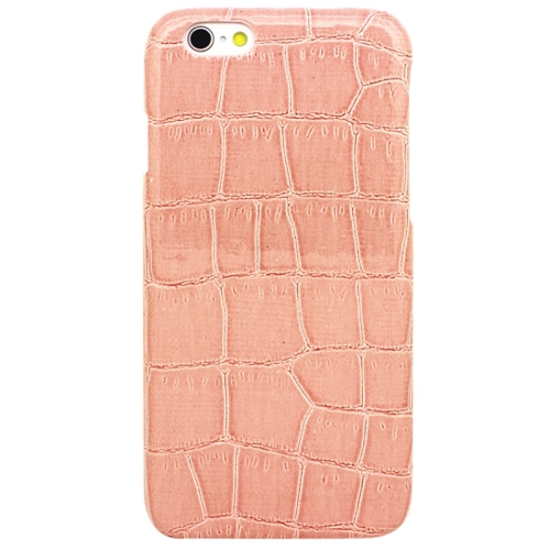 High Quality Crocodile Texture Mobile Phone Leather Skinning Plastics Case Cover for iPhone 6 Plus(China (Mainland))