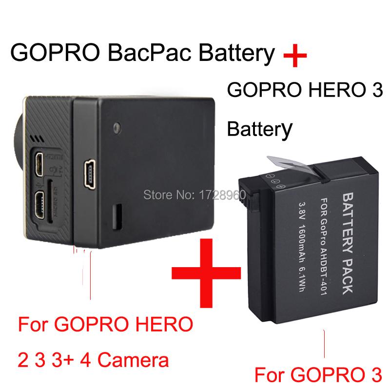 3 8v 1600mah for gopro hero 401 and high capacity gopro. Black Bedroom Furniture Sets. Home Design Ideas