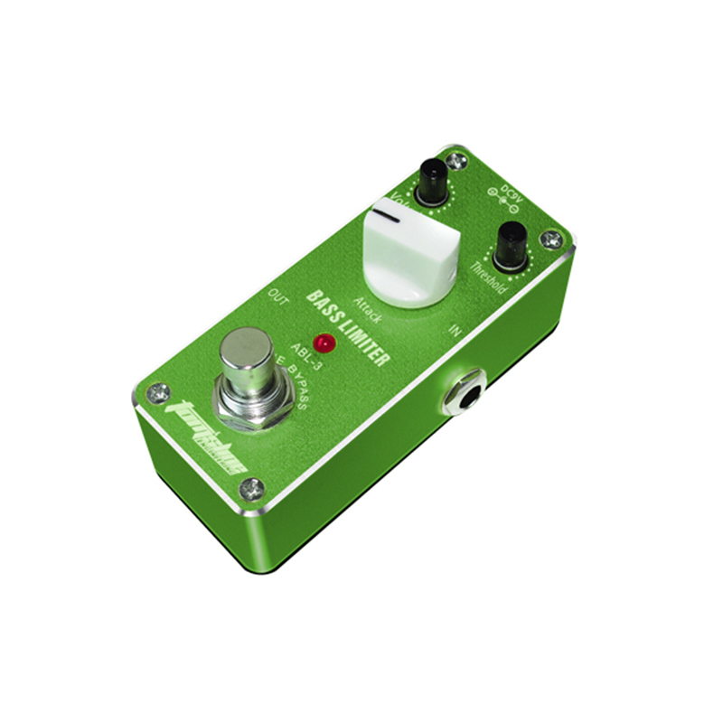 ABL-3 Bass Limiter Guitar Effect DC9V Power Supply Aroma Pedal Effects ABL3 CE ROHS Free Ship !!!(China (Mainland))
