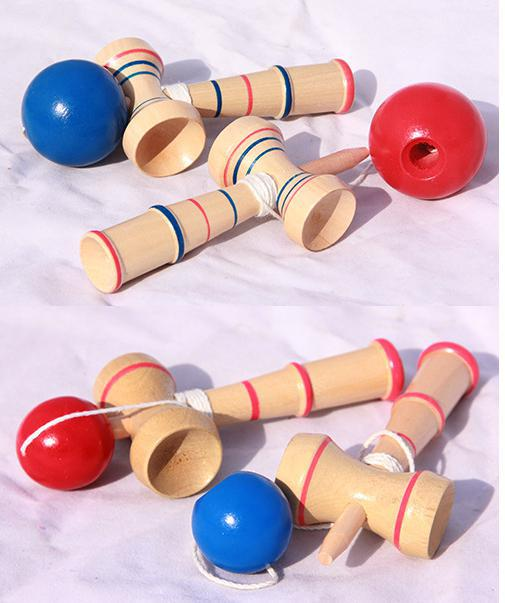 cup-and-ball game Funny Bahama Traditional Wood Game Skill Kendama Ball Children Toys Bahama Traditional Learning Education Toys(China (Mainland))