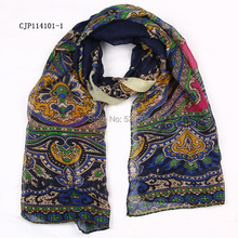 New Women Ladies Vintage flower Scarf Shawl Wrap Scarves 10pcs/lot mixed color