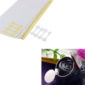 400pcs Round Ring Jewelry Sticky Retail Price Label Display Tags Stickers 2015