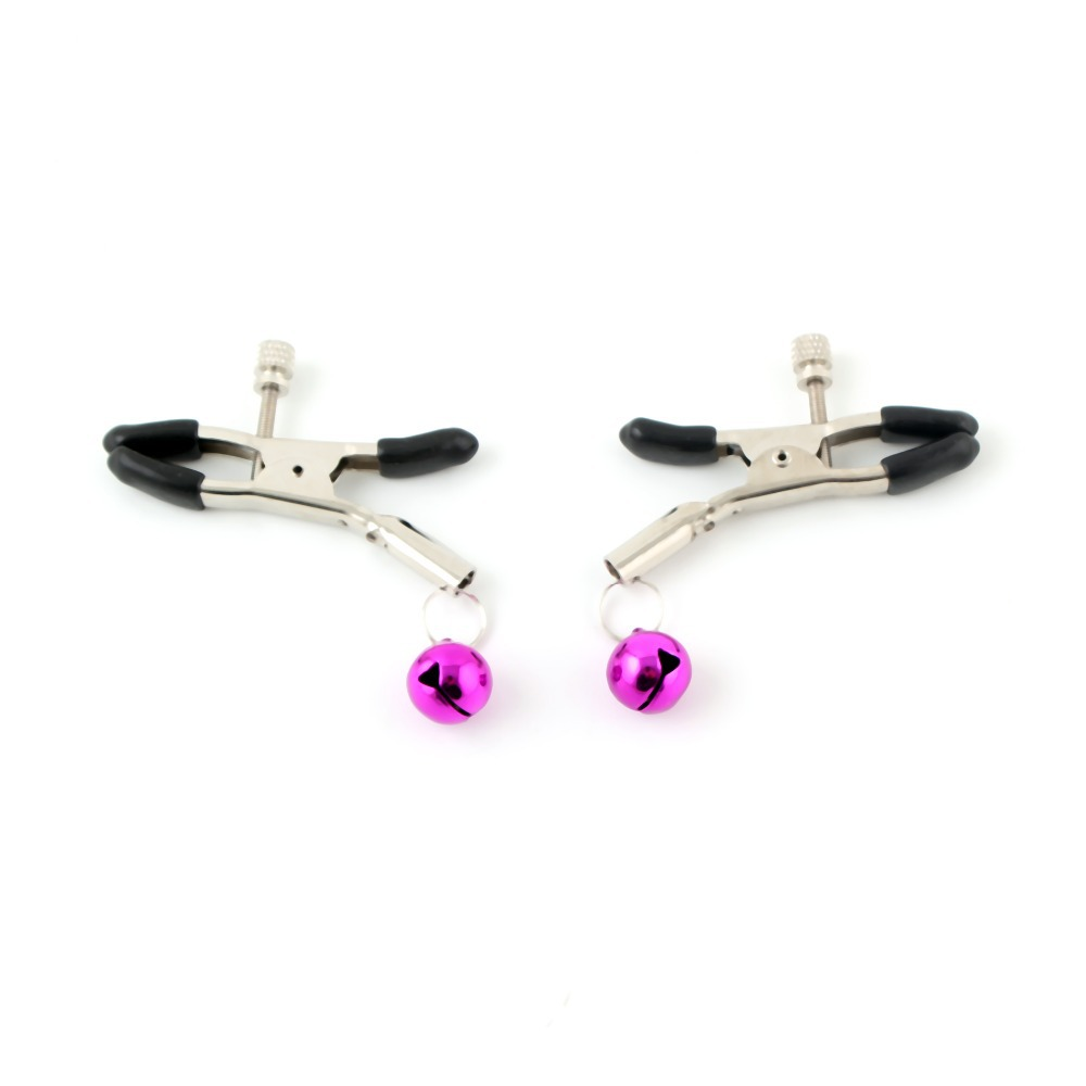 IDS Sexy Lady's Nipple Chain Adornment Clip Clamps Adjustable Non Piercing Sex Toy(China (Mainland))