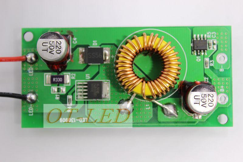 Freeshipping!2pcs 12V 50W LED Driver for50W 30-36V 1500mA high Power 50w led chip transformer for spot light/flood light<br><br>Aliexpress