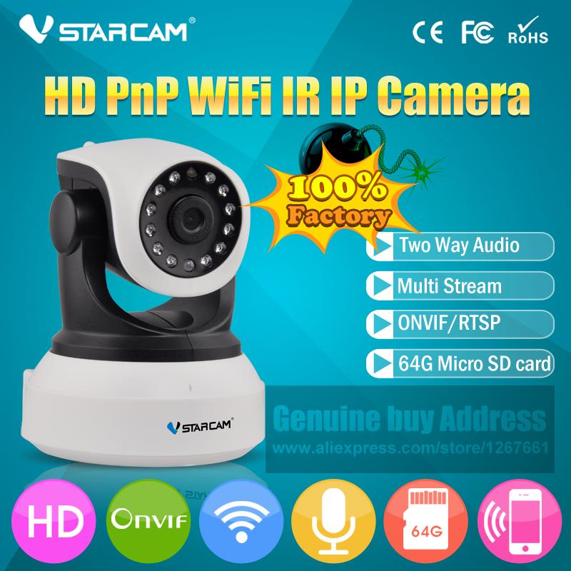 VStarcam HD Wireless IP Camera IR-Cut Night Vision Audio Recording Network CCTV Onvif Indoor IP(China (Mainland))