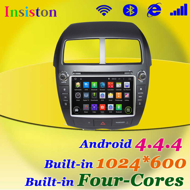 Android 4.4.4 HD 1024*600 Car DVD for Mitsubishi ASX 2010-2012/Outlander Sport/Citroen C4 Aircross with Quad Core A9 MirrorLink(China (Mainland))