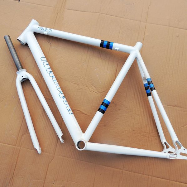 Fixed gear bike bicycle frame live site car brake aluminum alloy frame with frame + fork bicycle parts accesories(China (Mainland))