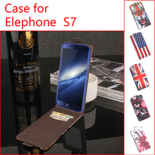Buy Lingmao Brand Mobile Phone Cases Genuine Leather Case Elephone S7 Wallet Stand Card Slot Cover for $3.88 in AliExpress store