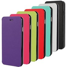 Ultra thin Slim Colorful Book Wallet PU Leather Stand Holder Pouch case cases for Iphone6 6 6G 4.7 4.7″ Plus 5.5 5.5″ 100pcs