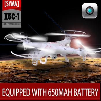 Syma x5c обновление x5c-1 2.4 г 4CH 6-Axis RC беспилотный вертолет Quadcopter игрушки дрон с 2MP HD камера или Syma x5 без камеры