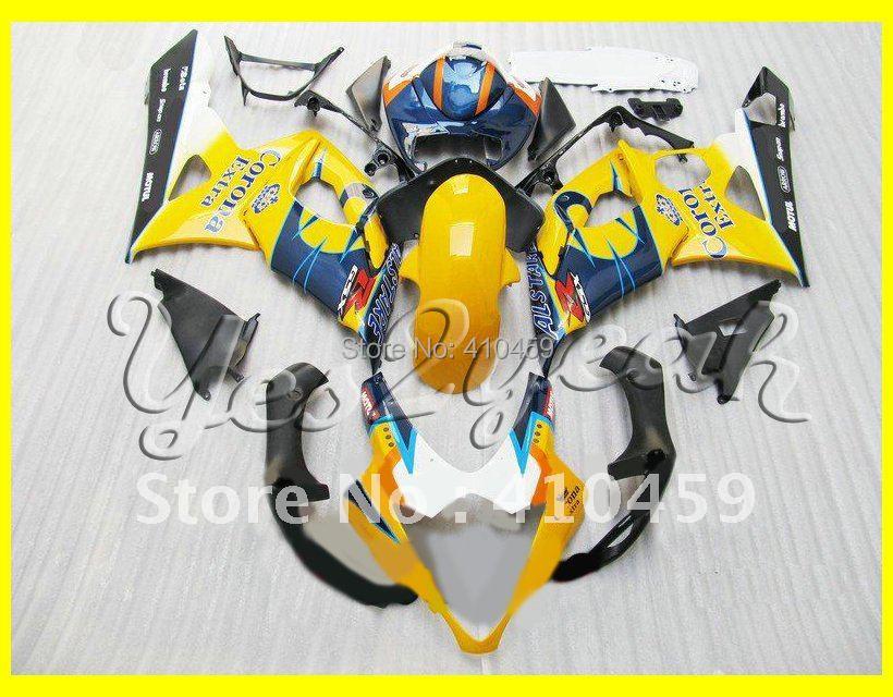 Corona yellow Fairing kit for SUZUKI GSXR1000 05 06 GSX-R1000 Injection mold GSXR 1000 K5 2005 2006 Motorcycle Fairings set(China (Mainland))