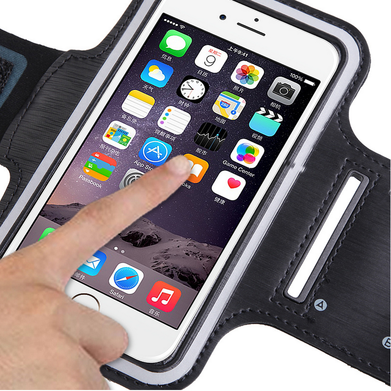 IDOOLS Running Jogging Sports Waterproof Armbands Case Designed For Apple iPhone 5 5s 5se 5c 4 4s Armband Mobile Phone Bags(China (Mainland))