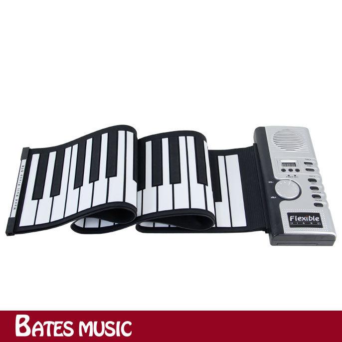 61 Keys MIDI Digital Roll-Up Soft keyboard piano Flexible Electronic Organ Kid's Gift