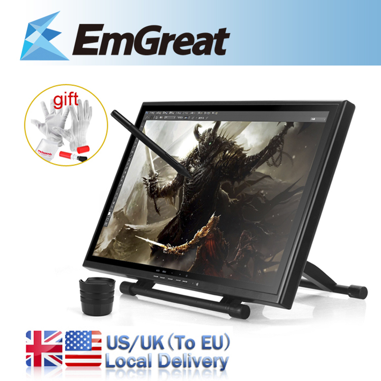 """DHL Free Shipping UGEE UG-1910B Professional 19"""" Inches LCD Monitor Art Graphic Tablet Drawing Digital Tablet Digitalizer Board(China (Mainland))"""