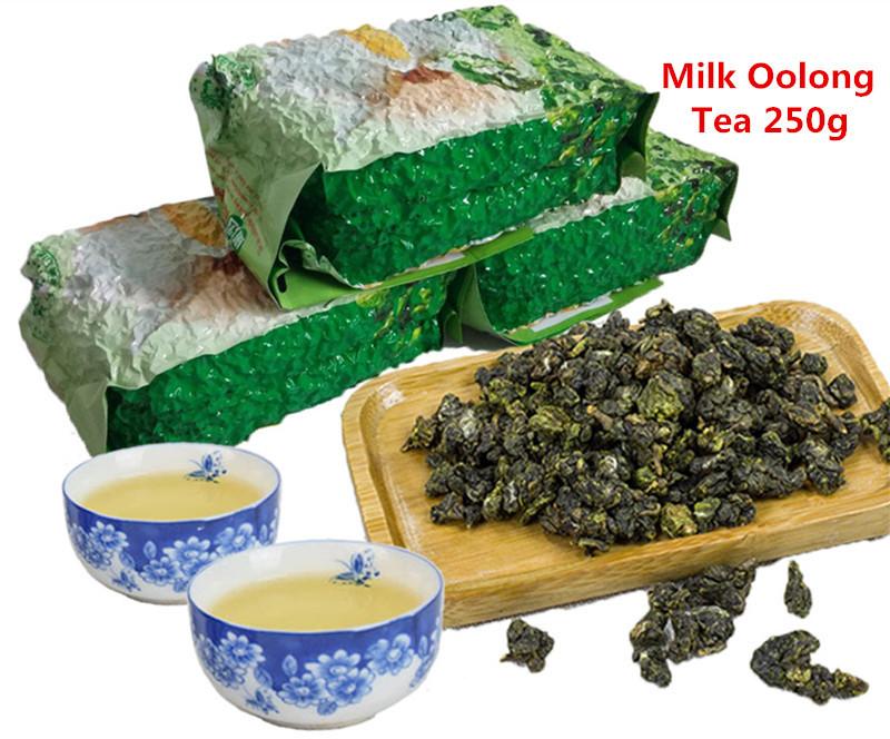 Promotion 250g Milk Oolong Tea High Quality Tiguanyin Green Tea Taiwan jin xuan Milk Oolong Health Care Milk Tea + Secret Gift(China (Mainland))