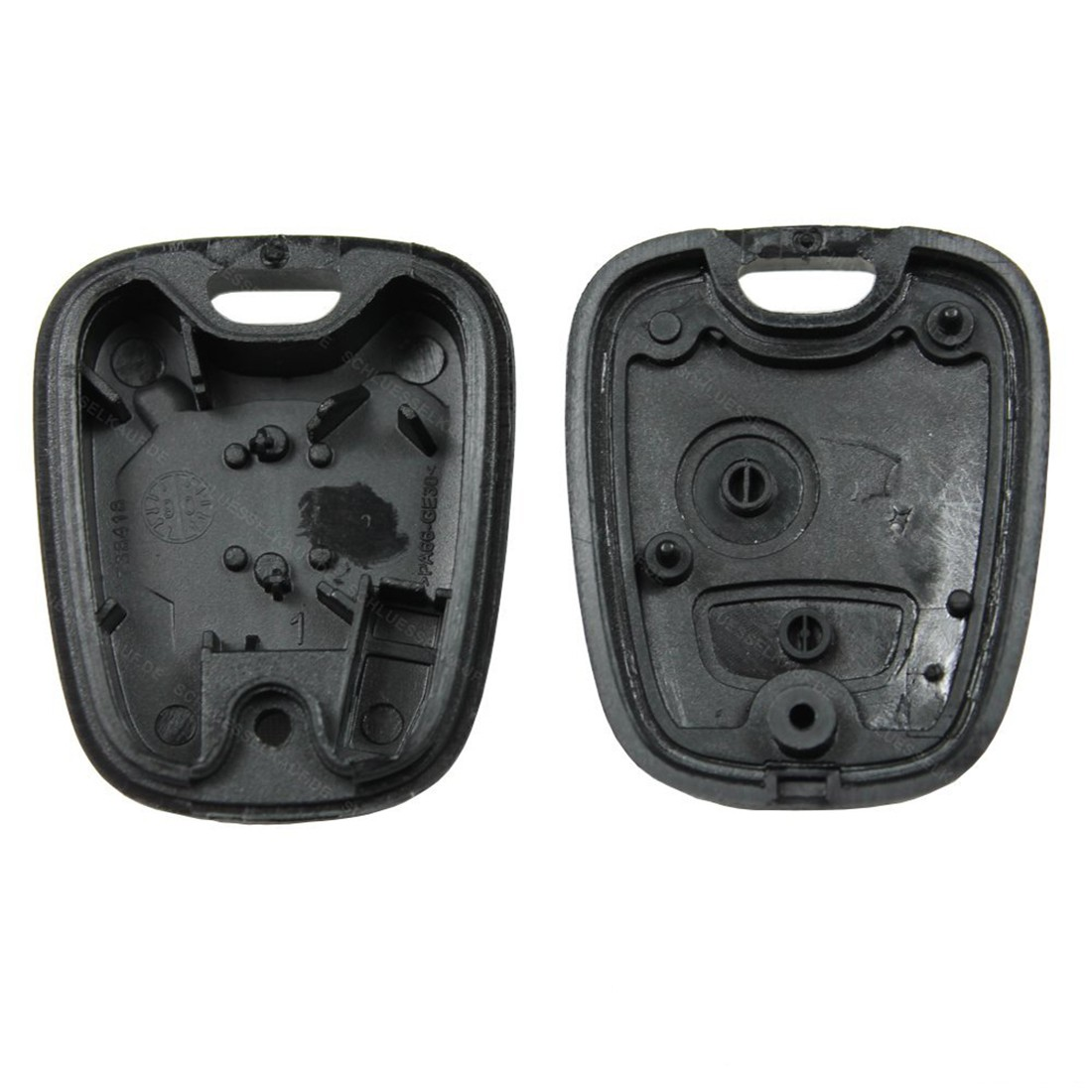 Black Replacement Entry Plastic Key Keyless Remote Fob Shell Case Housing for Peugeot 206 207 306