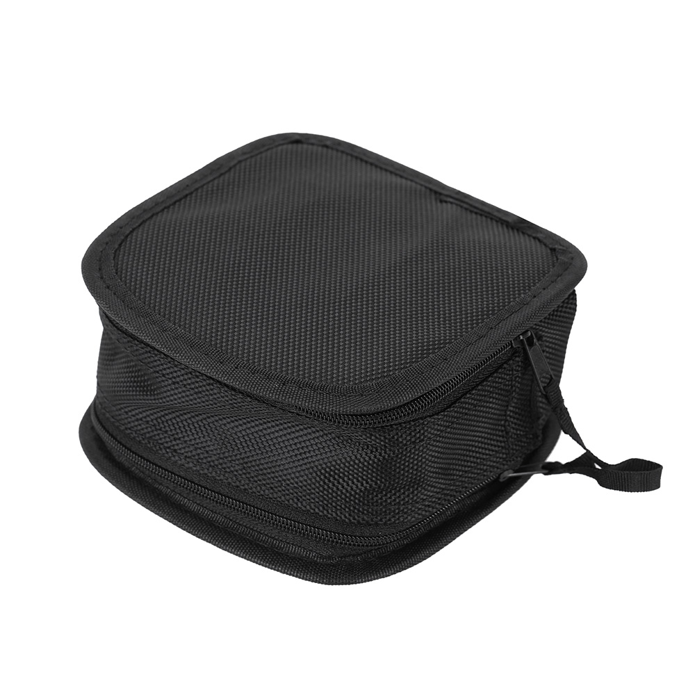 Brand New 9-in-1 Filter Lens Bag Wallet Case 9 Compartments for 25mm-95mm UV CPL Camera Lens With A Nylon Neck Strap(China (Mainland))