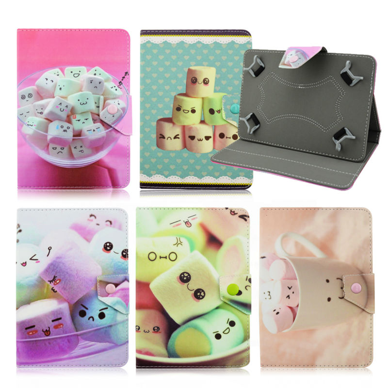 Candy PU leather stand case cover Lenovo TAB 2 A7-20F 7.0 inchFor Digma iDsD7 3G Universal 7inch tablet Android covers KF49