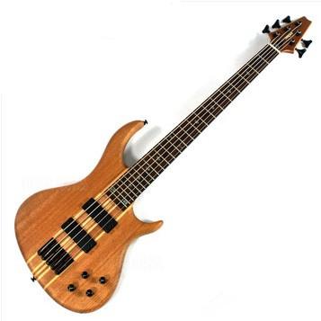 5 string bass, mahogany, Active pickups, canoe body, electric BASS musical instruments(China (Mainland))