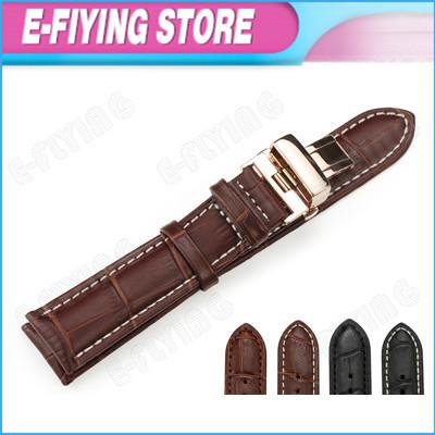 16mm Genuine Leather Bracelets Watch Band Straps for Ulysse Nardin Alligator Grain Rose Gold Clasp Women's Bracelets for Movado(China (Mainland))